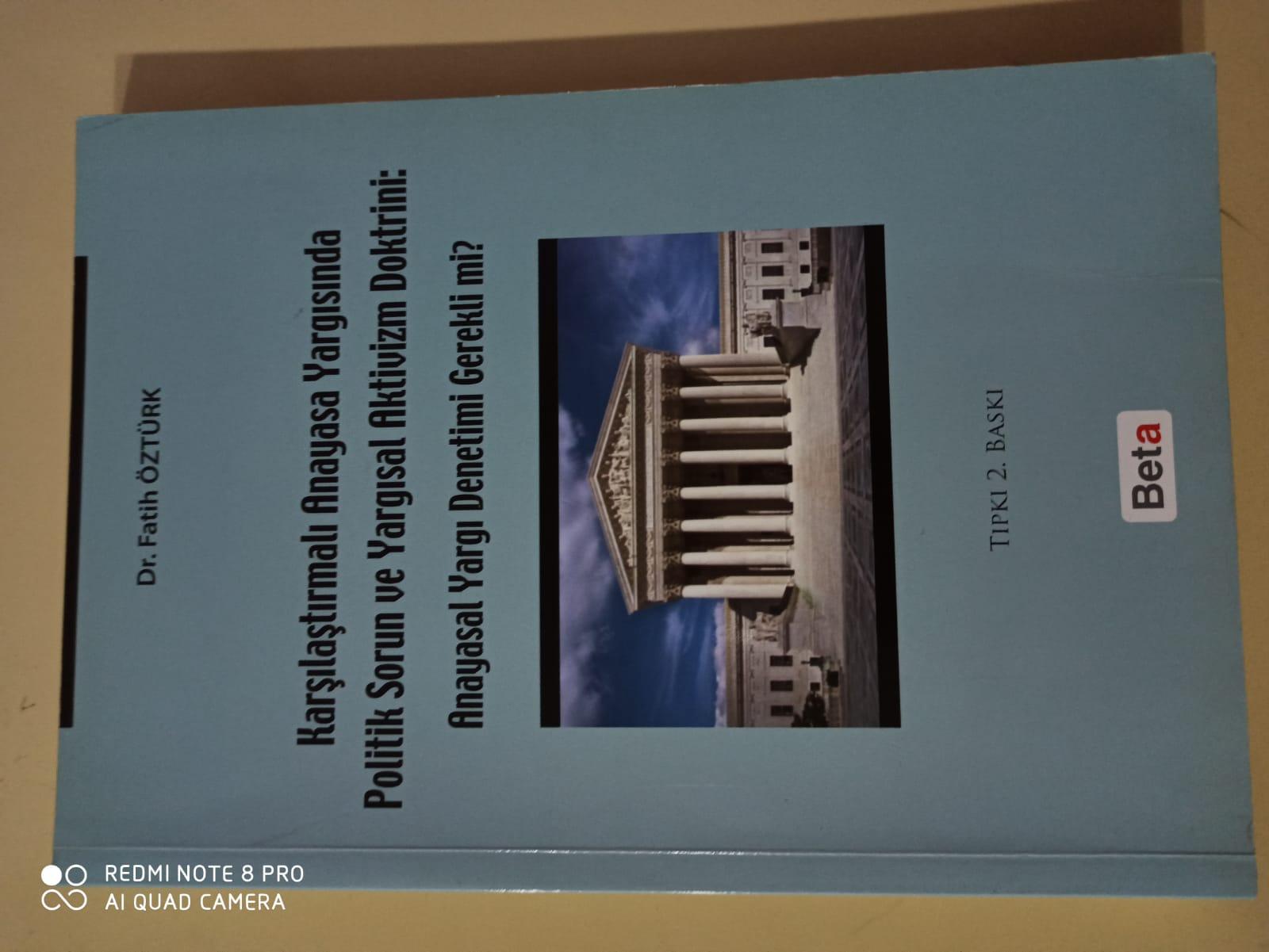 Karşılaştırmalı Anayasa Yargısında Politik Sorun ve Yargısal …